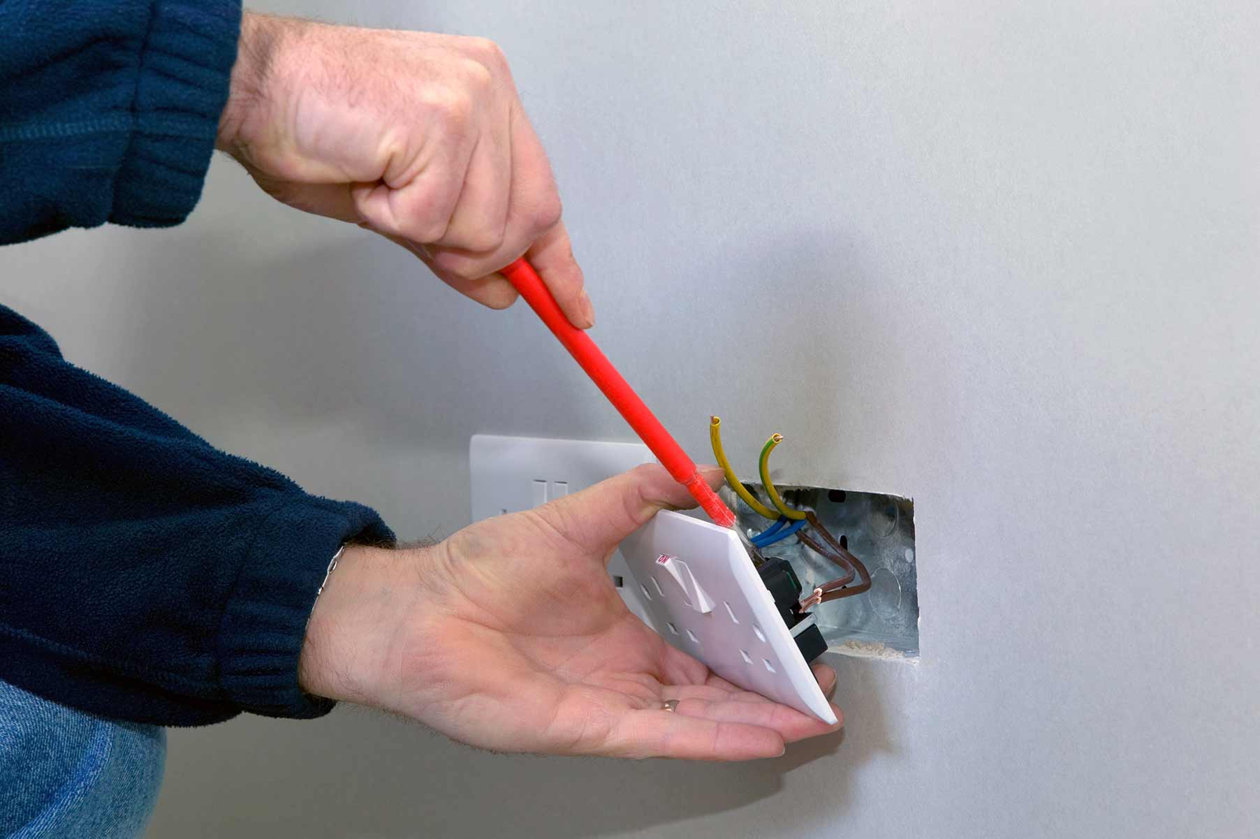Our electricians can install plug sockets for domestic and commercial proeprties in Buckhurst Hill and the local area.